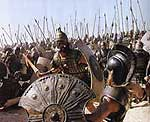 "Battle scene from the film ""Troy"""